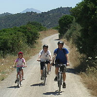 Family Cycling Holidays in Andalucia, Spain