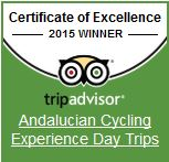 TripAdvisor Certificate Excellence 2015