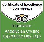TripAdvisor Certificate Excellence 2015