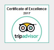 TripAdvisor Certificaat van Excellentie2017