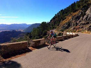 Road Cycling Holiday Spain